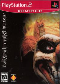 Caratula de Twisted Metal: Black [Greatest Hits] para PlayStation 2