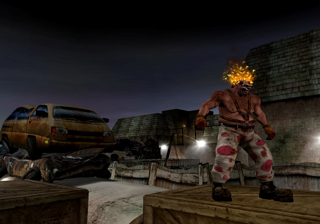 Pantallazo de Twisted Metal: Head-On: Extra Twisted Edition para PlayStation 2