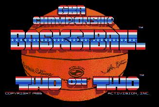Pantallazo de Two on Two Championship Basketball para Atari ST