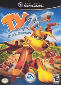 Caratula de Ty the Tasmanian Tiger 2: Bush Rescue para GameCube