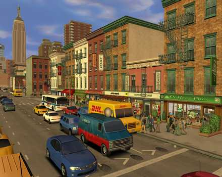 Pantallazo de Tycoon City: New York para PC
