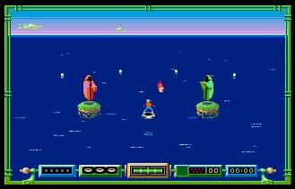 Pantallazo de Typhoon Thompson In Search for the Sea Child para Atari ST