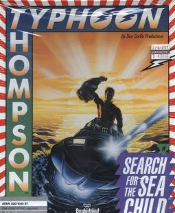 Caratula de Typhoon Thompson In Search for the Sea Child para Atari ST