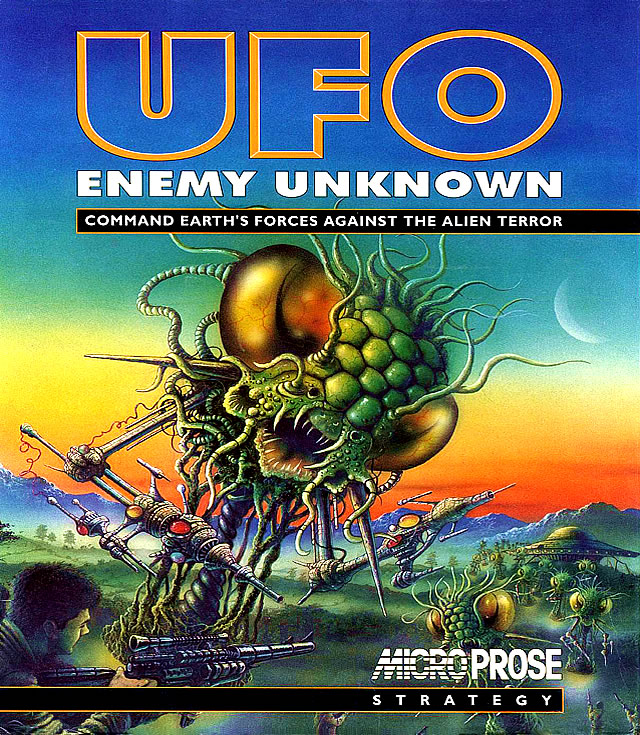 Caratula de UFO: Enemy Unknown para Amiga