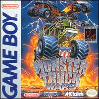 Caratula de USHRA Monster Truck Wars para Game Boy