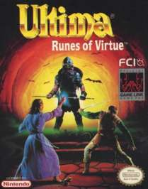 Caratula de Ultima: Runes of Virtue para Game Boy