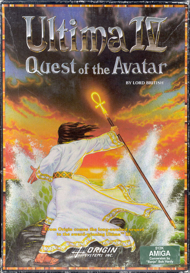 Caratula de Ultima IV: Quest Of The Avatar para Amiga