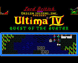 Pantallazo de Ultima IV: Quest Of The Avatar para Amiga