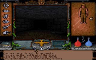 Pantallazo de Ultima Underworld: The Stygian Abyss para PC