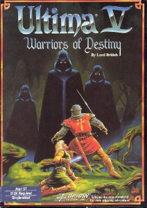 Caratula de Ultima V: Warriors of Destiny para Atari ST