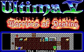 Pantallazo de Ultima V: Warriors of Destiny para PC