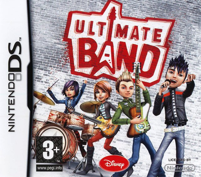 Caratula de Ultimate Band para Nintendo DS