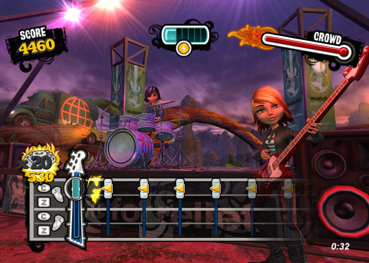 Pantallazo de Ultimate Band para Wii