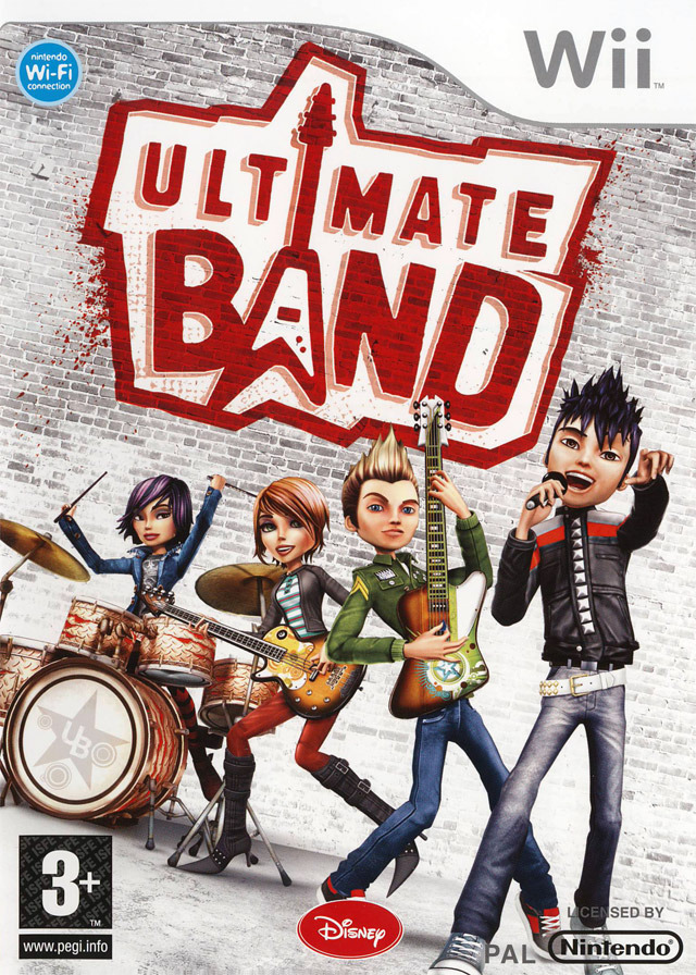 Caratula de Ultimate Band para Wii