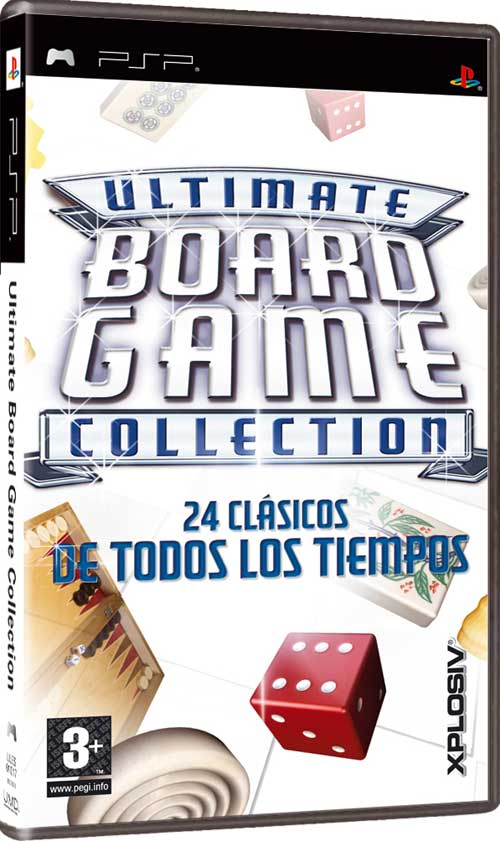 Caratula de Ultimate Board Game Collection para PSP