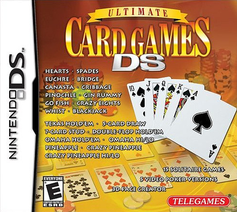 Caratula de Ultimate Card Games para Nintendo DS