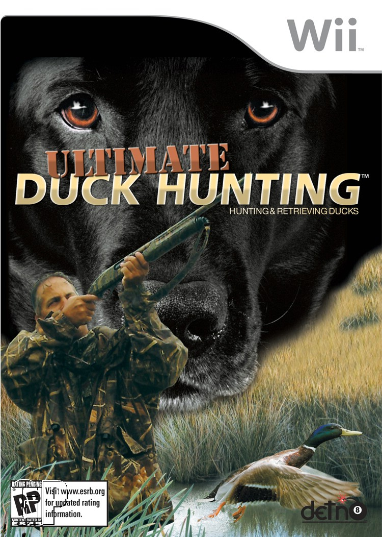 Caratula de Ultimate Duck Hunting para Wii