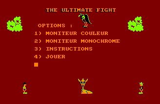 Pantallazo de Ultimate Fight, The para Amstrad CPC