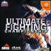 Caratula de Ultimate Fighting Championship para Dreamcast