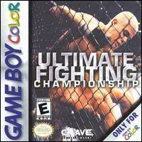 Caratula de Ultimate Fighting Championship para Game Boy Color