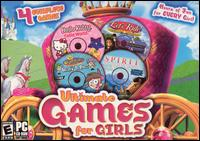 Caratula de Ultimate Games for Girls para PC