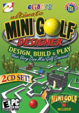 Caratula de Ultimate Mini Golf Designer para PC