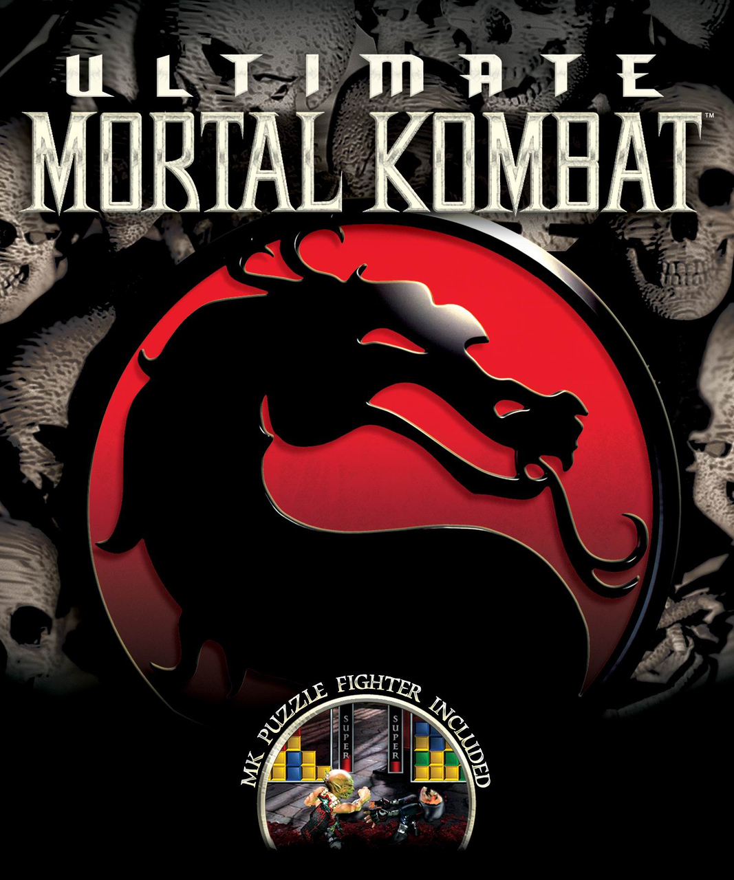 Gameart de Ultimate Mortal Kombat para Nintendo DS