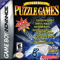 Caratula de Ultimate Puzzle Games para Game Boy Advance