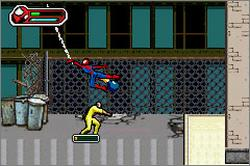 Pantallazo de Ultimate Spider-Man para Game Boy Advance