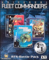 Caratula de Universal Fleet Commanders para PC