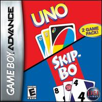 Caratula de Uno / Skip-Bo para Game Boy Advance