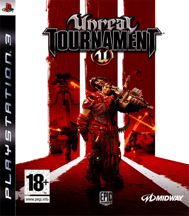 Caratula de Unreal Tournament III para PlayStation 3