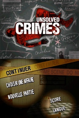 Pantallazo de Unsolved Crimes para Nintendo DS