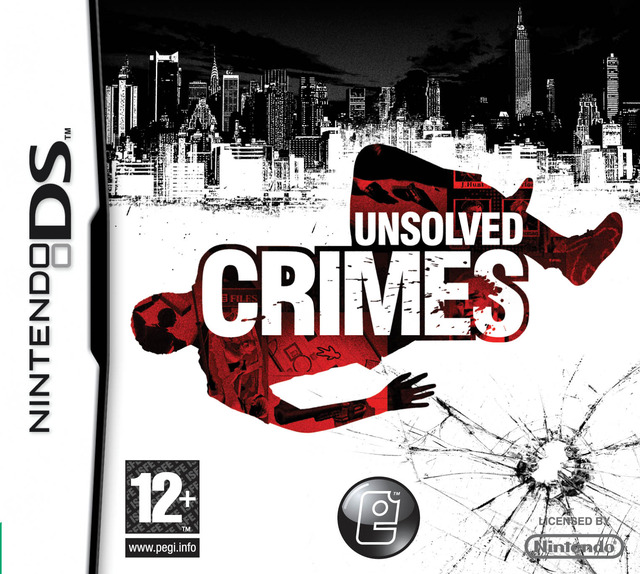 Caratula de Unsolved Crimes para Nintendo DS