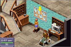 Pantallazo de Urbz: Sims in the City, The para Game Boy Advance