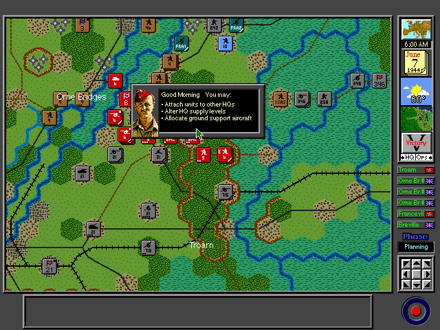 Pantallazo de V for Victory: D-Day Normandy 1944 -- Gold-Juno-Sword para PC