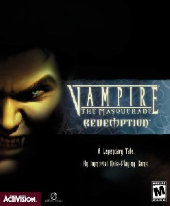 Caratula de Vampire: The Masquerade - Redemption para PC