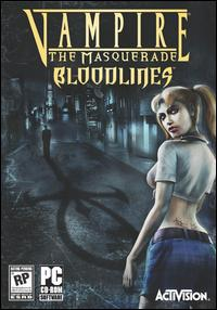 Caratula de Vampire: The Masquerade -- Bloodlines para PC