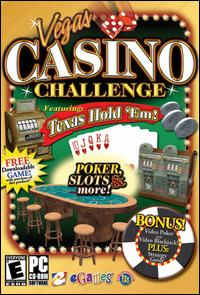 Caratula de Vegas Casino Challenge Featuring Texas Hold-Em para PC
