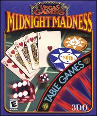 Caratula de Vegas Games Midnight Madness: Table Games para PC