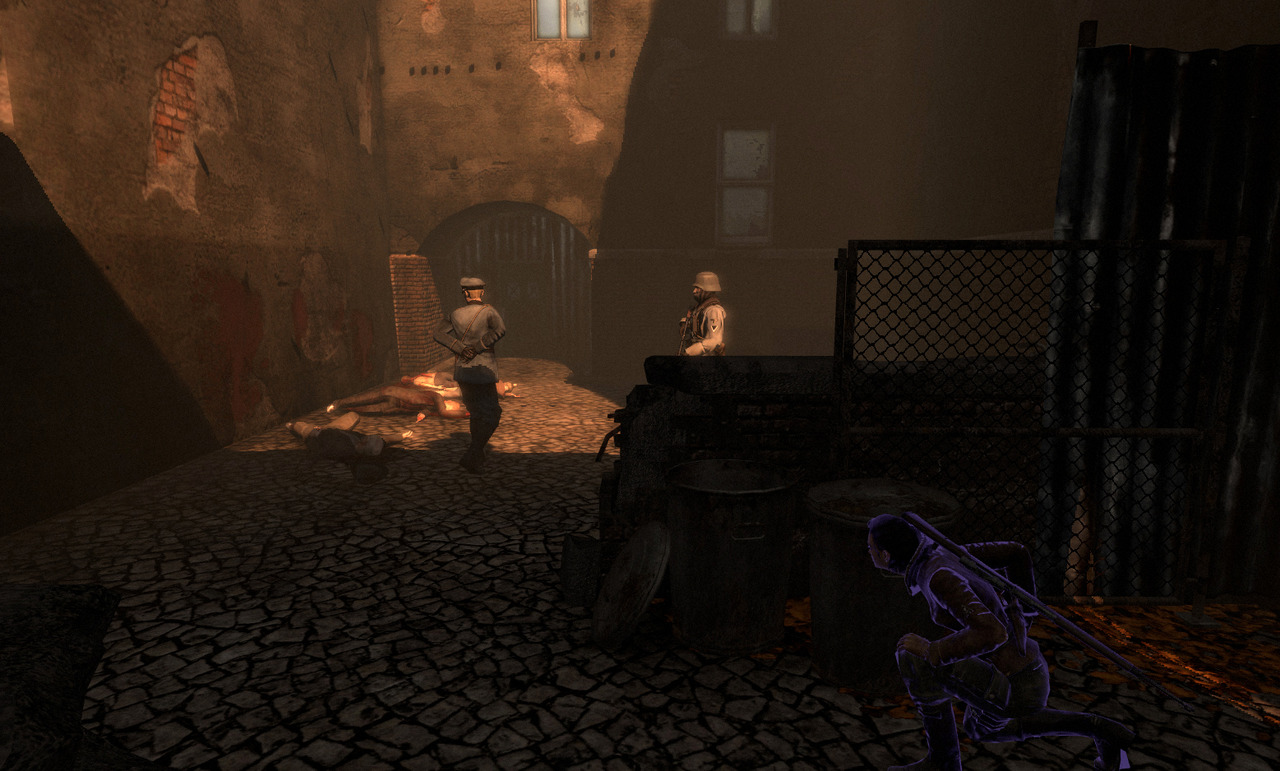 Pantallazo de Velvet Assassin para PC