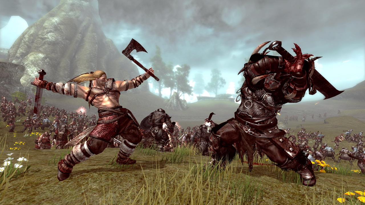Pantallazo de Viking: Battle for Asgard para Xbox 360