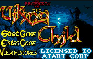 Pantallazo de Viking Child para Atari Lynx