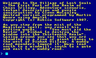 Pantallazo de Village Of The Lost Souls, The para Amstrad CPC