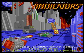 Pantallazo de Vindicators para Atari ST