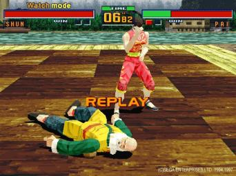 Pantallazo de Virtua Fighter 2 para PC