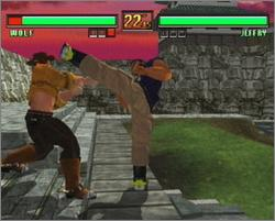 Pantallazo de Virtua Fighter 3tb para Dreamcast