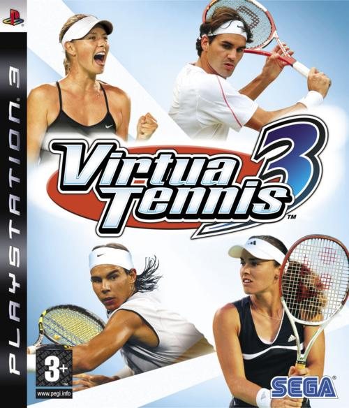 Caratula de Virtua Tennis 3 para PlayStation 3