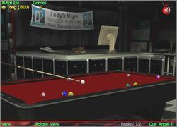Pantallazo de Virtual Pool 3 Featuring Jeanette Lee para PC