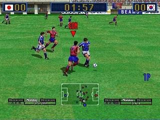 Virtual Striker 2: Ver. 2000.1 - Dreamcast Pantallazo nº 161758 (1 de